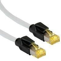 Draka Comteq drtm31Patchkabel CAT63m 3m grau Netzwerk-Kabel–Netzwerk-Kabel (3m, RJ-45, RJ-45, männlich/männlich, CAT6A, grau)