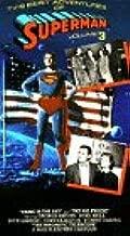 TV's Best Adventures of Superman 3/2 episodes & 1 cartoon VHS