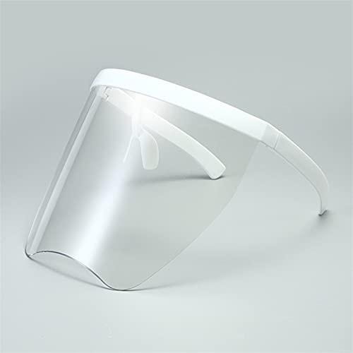 YCHH Gafas claras Exageradas Exageradas Visor Wrap Wrap Shield Espejo Grande GAPAS DE Sol Medio FACÍSTICA GUERDA GUERTAS DE Sol DE GUERDA UV400 Gafas (Color : 1)