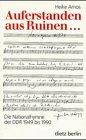 Auferstanden aus Ruinen...: Die Nationalhymne der DDR 1949-1990