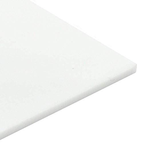 Plancha de metacrilato opal blanco, 3mm, DIN A3 (297 x 420mm). Metacrilato opal blanco varios tamaños - Plancha Metacrilato opaco acabado ópalo- Placa acrílico opal blanco