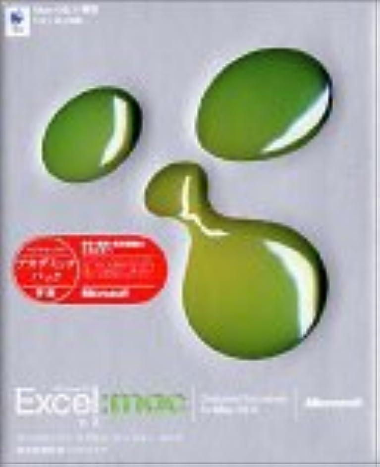 いたずらな影響力のあるあえぎ【旧商品】Microsoft Excel X for Mac アカデミックパック