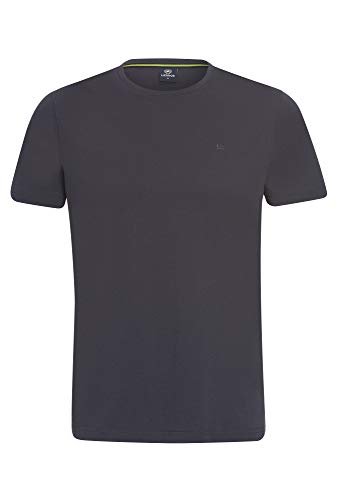 Basic Rundhals T-Shirt dunkelgrau,XL