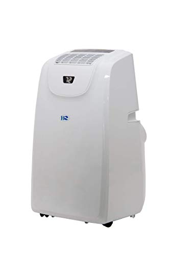 Portable Air Conditioner-Heat/Cool, 14000 BTU, 500 sq.ft, Standing Room AC Unit with LED Display, Remote Control and 24-Hour ON/OFF Programmable Timer, Low Noise Level, ETL Certified