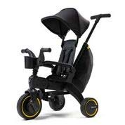 Doona Liki Trike, Safe and Comfortable Folding Trike – Midnight Edition