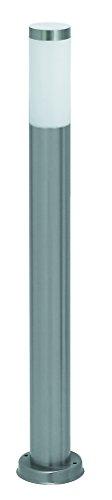 RABALUX Lampe torche en acier inoxydable A++ à E 60 W E27 Blanc, Métal Plastique, bleu/gris, 11 x 11 x 65 cm, E27 60watts 230volts