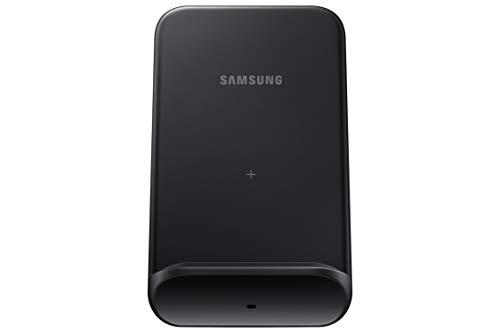 Samsung Wireless Charger Convertible EP-N3300 drahtlose Ladestation, 9W, stehend Laden oder Ladepad, für Smartphones, Kopfhörer, Earbuds, schwarz
