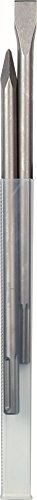 Meißel / SDS-max Meißelset 2-teilig | für allgemeine Meißel- und Abbrucharbeiten von Mauerwerk, Beton und Gestein, leistungsstark und robust | spitz – 400 mm, flach – 25 x 400 mm