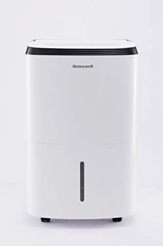 Honeywell Large SqFt Design & Filter Change Alert, TP70WKN, White TP70WK 70 Pint Energy Star Dehumidifier for Basement & Large Room Up to 4000 Sq Ft....