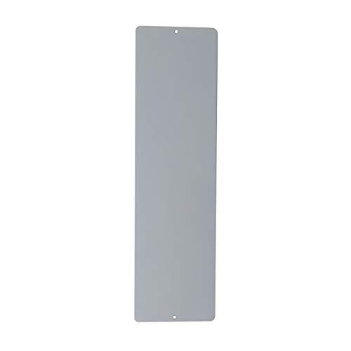 KalaMitica 60114-990-001 Pizarra magnética para Pared, Acero, Color Plata, Dimensiones 14x50x0,12 cm