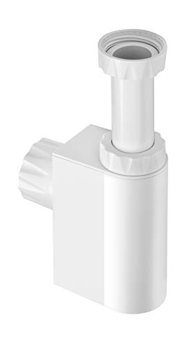 Integrated Trap and Air Admittance Valve White 1-1//4 Outlet Inc. Studor 20395 Trap-Vent 1-1//4 Outlet