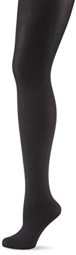 s.Oliver Socks Damen Matt Fein Strumpfhose S23003, 80 DEN, Gr. 44 (Herstellergröße: 44/46), Schwarz (black 5)