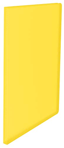 ESSELTE VIVIDA Portalistino fogli fissi - PPL 40 buste - f.to 21,5 x 30 cm - Giallo VIVIDA - 395574090