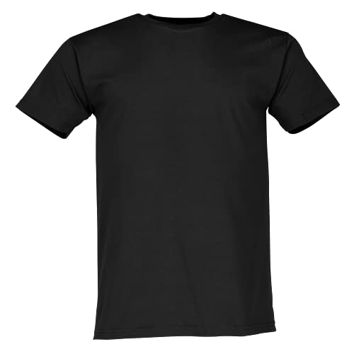 Fruit of the Loom SS022M T-Shirt, Noir, S Homme