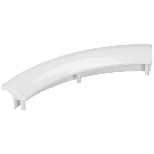 Türgriff für Trockner, passend für Wäschetrockner Bosch/Siemens 00497522/497522 sowie Quelle/Privileg 01007138. Auch passend für Neff, Constructa Kondenstrockner/Wärmepumpentrockner