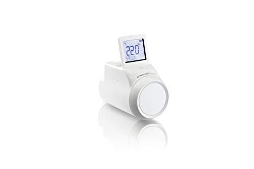 Honeywell Home THR092HRT Cabezal Termostático Radiador Wireless para Sistema Evohome, Blanco, Pack de 1