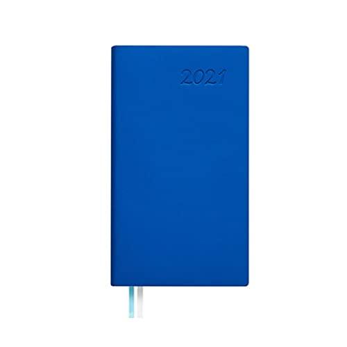 ZNZNN Planela Portátil Portátil Cuaderno Multifunción Diario Creativo Multifunción Una Variedad De Colores para Elegir (84 Hojas / 168 Páginas) Regalo Cuaderno Multifuncional (Color : Blue)