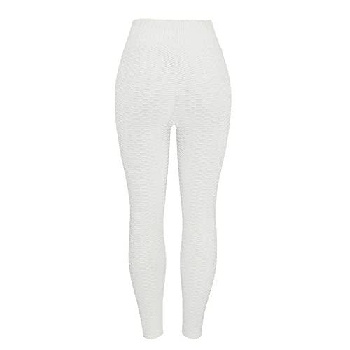 YELLAYBY elástico Polainas calientes de las mujeres 10colors Yoga Pantalones Sport empuje hacia arriba Medias Gimnasio polainas de cintura alta aptitud que se ejecuta delgados pantalones atléticos Ele