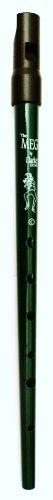 Clarke Pennywhistle TIN WHISTLE Stimmung C grün -- die beliebte Whistle vom Originalhersteller aus England mit Grifftabelle und Noten zu 4 Songs