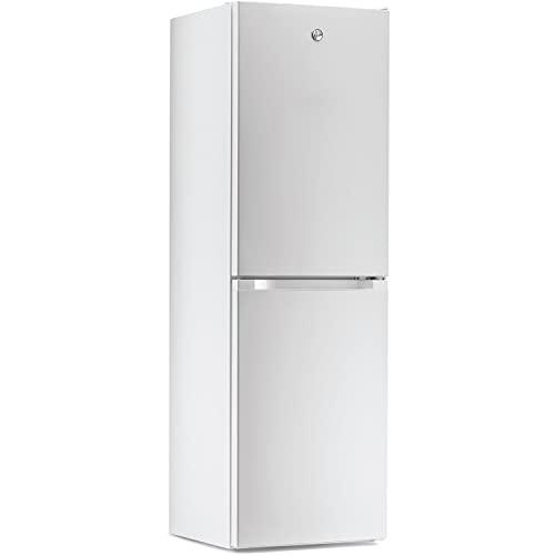 Hoover 253L Low Frost Freestanding Fridge Freezer - White
