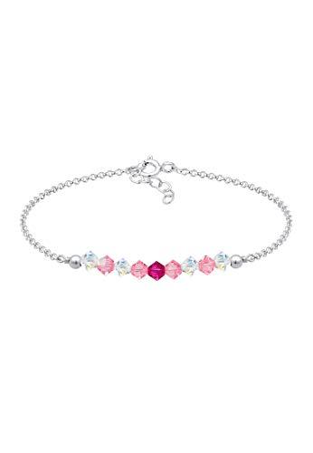 Elli Armband Kinder Beads Kristalle 925er Silber