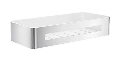 SMEDBO SIDELINE Design Seifenkorb Duschkorb mit weißem Einsatz aus ABS-Kunststoff DK4001