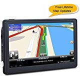 Find Discount 7 inches Car GPS, Navigation System for Cars Lifetime Map Updates Touch Screen Real Vo...