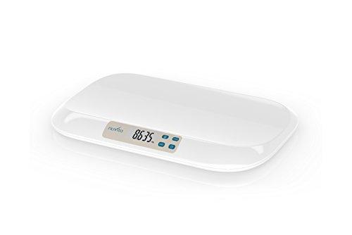 Nuvita 1310 PRIMI PESI® Báscula Digital para Bebé – Balanza con Pantalla LCD y Tallimetro - Controle con Precisión el Peso del Bebé - Resultados Precisos y Fiables - Marca Europea - Diseño Italiano