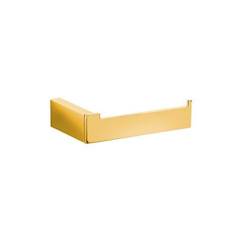 Tres Grifería 20223612OR Portarrollos, Oro, Estándar