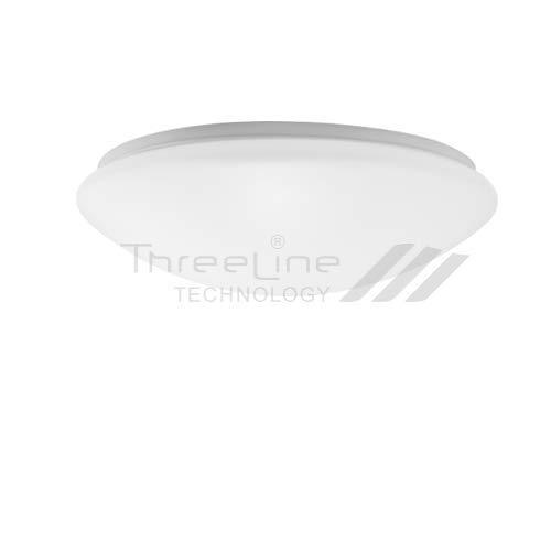 Plafón Redondo LED 18W Blanco neutro Threeline (blanco)