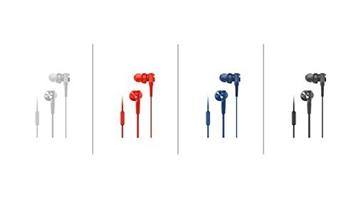 Sony MDR-XB55AP In-Ear-Kopfhörer (Extrabass, Mikrofon) Rot