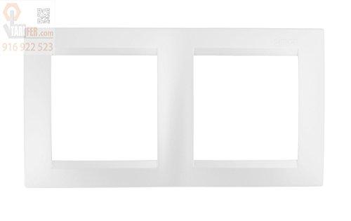 Simon M256209 Marco 2 elementos serie 15 blanco
