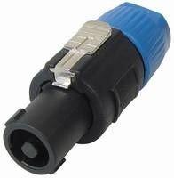MANAX PA Kupplung verriegelbare Lautsprecherstecker mit Clipverriegelung 2 polig - 5...