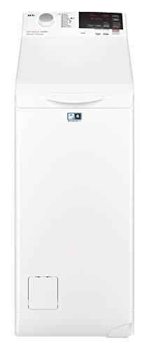 AEG L6TBG721 Lavatrice a Carica dall'Alto, 1200 Giri/min, LCD, 7 kg, 56 Decibel, Classe Energetica A+++, Bianco