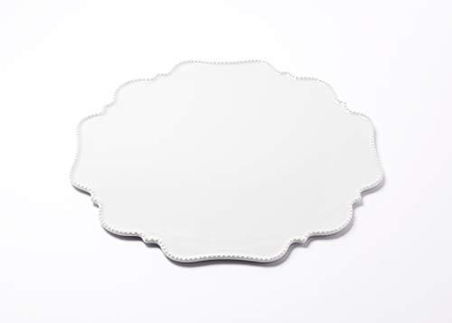 Reichenbach Porzellan Teller – Tortenplatte aus der Serie Taste von Paola Navone - 33 cm – Weiss