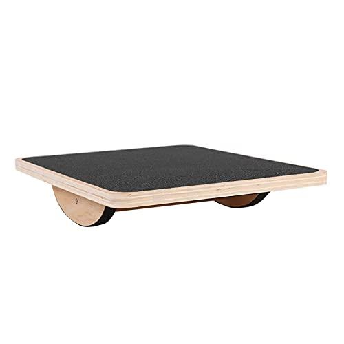 Avola per Equilibrio Professionale Rocker Board Balance Board in Legno Multifunzionale Tavoletta Propriocettiva Legno Indoboard Balance Board Bambini E Adulti per L'allenamento Dell'Equilibrio