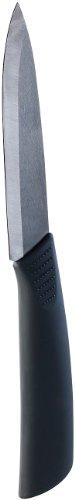 Couteau de cuisine en céramique zircone noire - 13 cm [Rosenstein & Söhne]