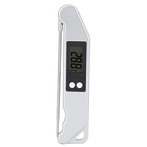 WEILafudong Portátil Digital Cocina Termómetro Plegable Barbacoa Termómetro Electrónico Medidor de Temperatura Cocina Accesorios