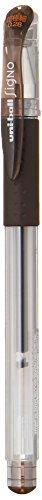 Uni Gel Ballpoint Pen Uni-Ball Signo Ultra Fine 0.28mm Brown Black (UM15128.22)