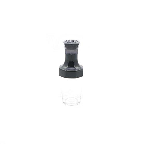 TWSBI Ink bottle,Tintenfass,inkwell,Tintenglas,VAC 20A,Reisegröße 20 ml,Kunststoff/Farbe Schwarz