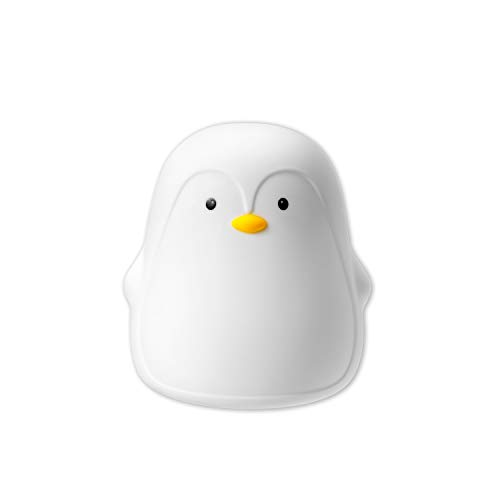 Nuby Penguin Baby Night Light, Rechargeable, Colour Changing Touch Night...