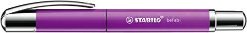 Tintenroller - STABILO beFab! Uni Colors in rhodamin rot - Einzelstift - inklusive Patrone