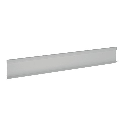 """Divider for Parsley Runner with Aluminum Support White Plastic""""T"""" Shape - 24""""L x 3 1/2""""H"""