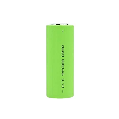 MeGgyc Batería 3.7V 8800mAh Li-Ion Recargable Baterías seguras para batería Adecuado para batería de Linterna 1PCS