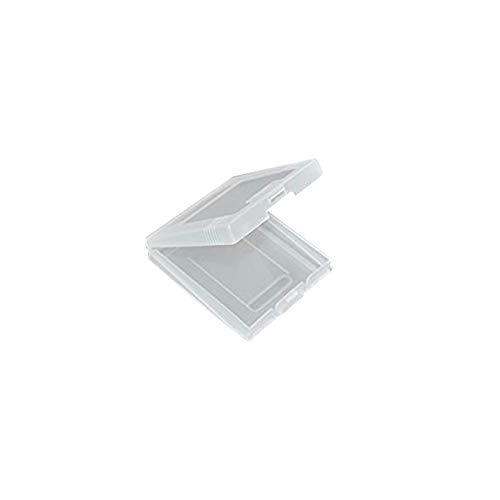 WiCareYo 10PCS Klar White Game Cartridge Schutzhülle Spielhüllen für Game Boy Color GBC