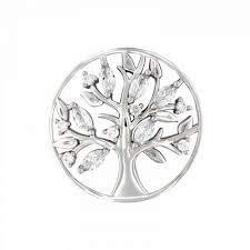 MY iMenso Insignia Lebensbaum Silber 33-1478