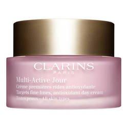 Clarins - Multi-Active Jour - Crème premières rides antioxydante Peaux Normales - Toutes peaux - 50 ml- (para el pedido de varios artículos se reembolsará el costo de franqueo adicional)