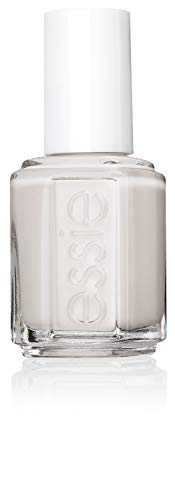 Essie Nagellack für farbintensive Fingernägel, Nr. 409 between the seats, Weiß, 13,5 ml