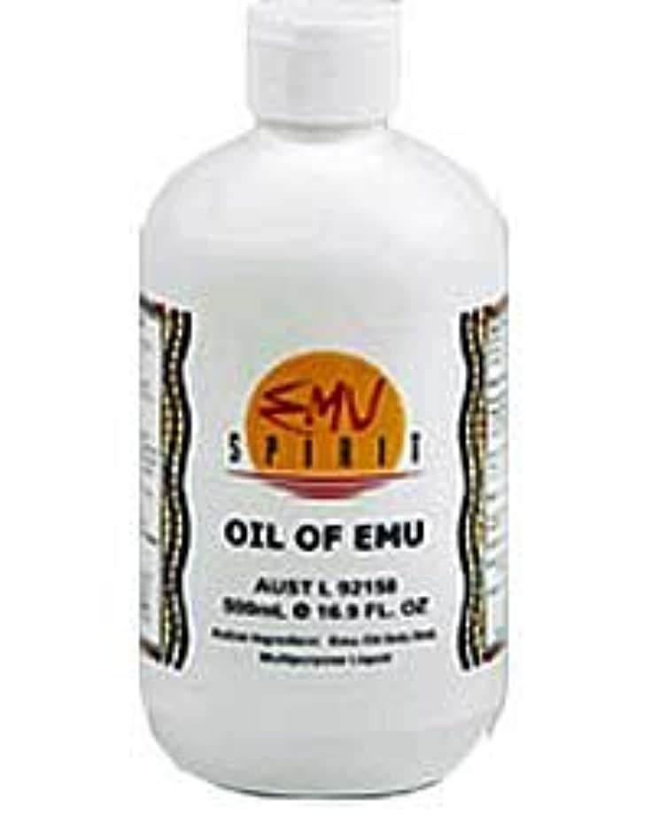 ディスコ達成可能[EMU OIL] 100%ピュア エミューオイル 500ml [海外直送品]