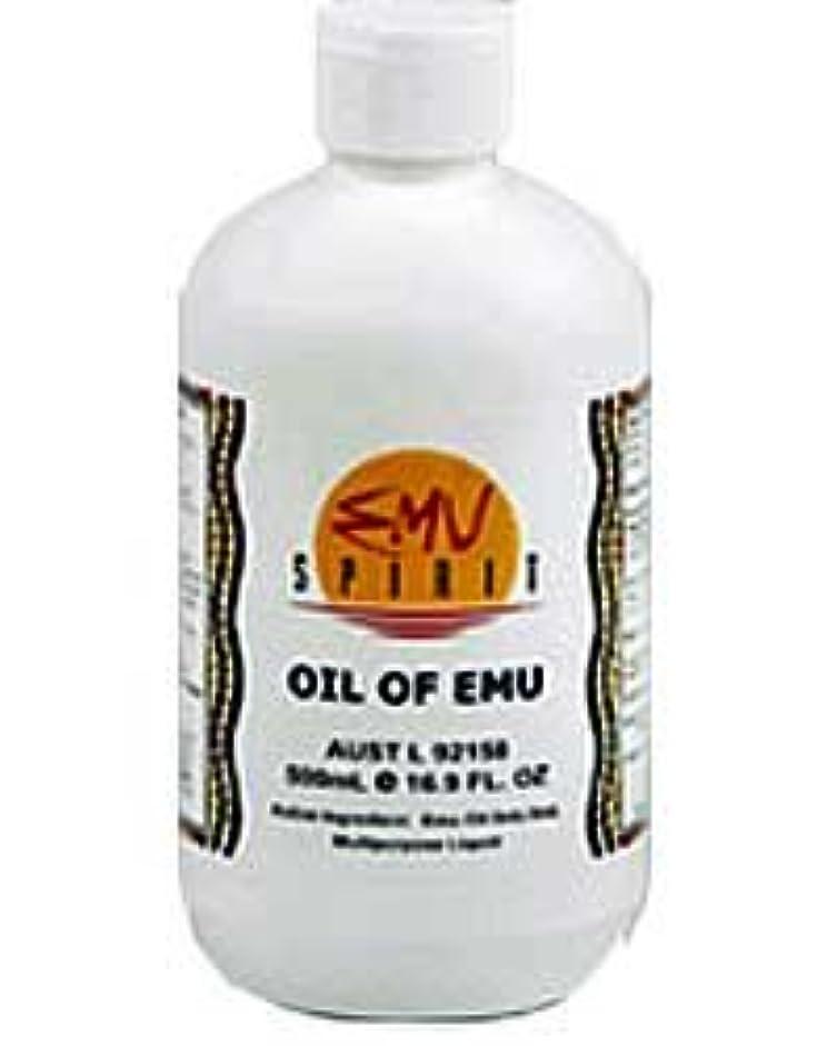 ウッズウッズ不定[EMU OIL] 100%ピュア エミューオイル 500ml [海外直送品]